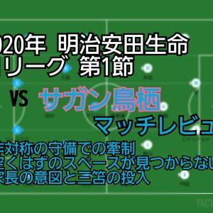 2020年 明治安田生命J1リーグ 第1節 VSサガン鳥栖 マッチレビュー~Try again!~