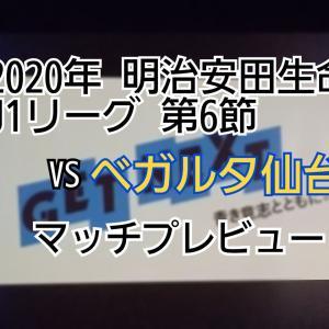 2020年 明治安田生命J1リーグ 第6節 VSベガルタ仙台 マッチプレビュー