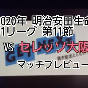 2020年 明治安田生命J1リーグ 第11節 VSセレッソ大阪 マッチプレビュー