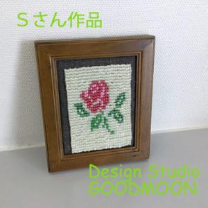 手織り教室生徒さん作品:ビーズ織り