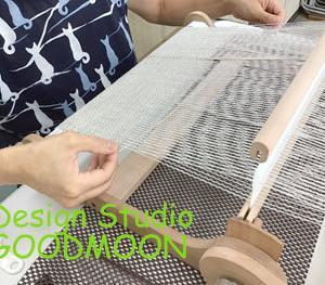 手織り教室・ゆさあきこのアドバイス:オンリーワンの作品に織り上がるように