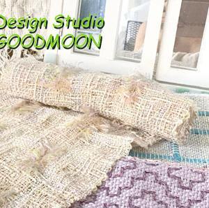 手織りサンプル、作っていかないとっっ、、、!!