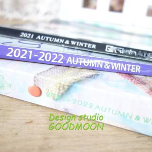 今年の秋冬の位置見本帳が、届き始めています