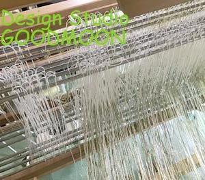 手織り布・絽、制作中!綜絖足りない、、、