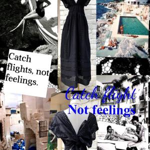 ❤︎CATCH FLIGHTS,NOT FEELINGS❤︎
