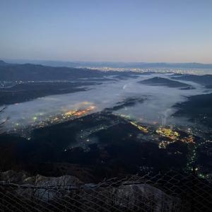 秩父武甲山からの雲海