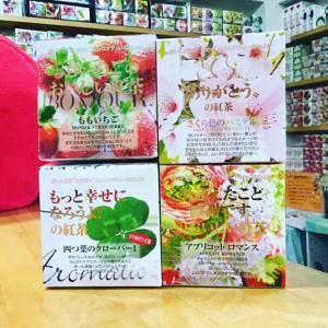 春らしい香りの紅茶