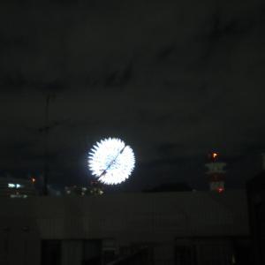 満月&花火大会でした・・・