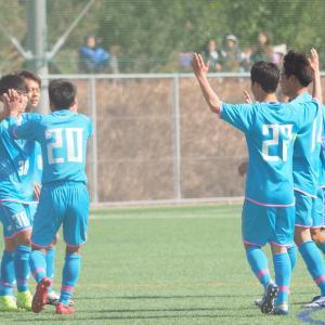 U18セカンド初陣は7対1で勝利
