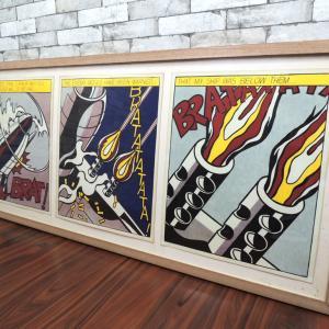 ロイ リキテンシュタイン Roy Lichtenstein 「As I Opened Fire」 1966年 オフセット・リトグラフ作品 S.M.A.発行 ポップアート 買い取りしました!祖師谷大蔵店 出張買取もお任せ下さい!
