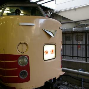 189系で運転されていた「快速らくらく青梅マラソン号」と「ホリデー快速富士山号」