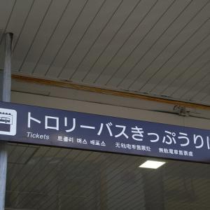 関電トンネルトロリーバスラストラン!