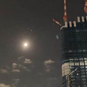 月と木星と土星。