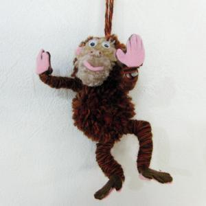 ポンポン人形 ~ サル ~