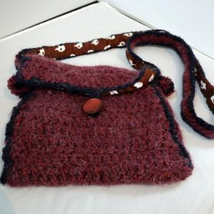 編みもの ~ 編み物ポシェット ~