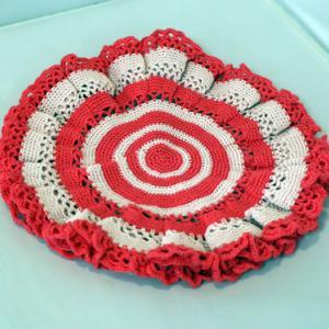 レース編み ~ 花瓶敷き ~
