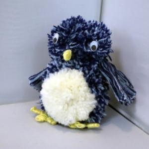 ポンポン人形 ~ 手広の青い鳥 ~