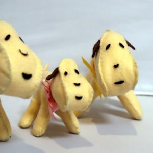 フェルト手芸 ~ フェルト犬 ~