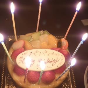 誕生日とは、ひとつ歳をとる日