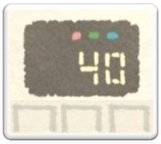 スイッチをわかりやすくするシール☆赤と黄緑