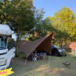 まんのう公園でキャンプ♪