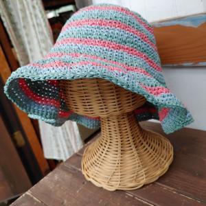頼まれものの帽子。