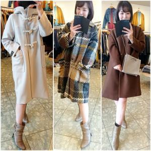 おすすめのコートを3選×可愛いバッグも♪お気に入りを見つけに来て下さいね。