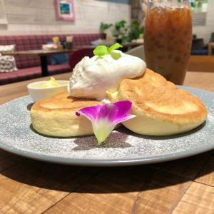 ハワイアンカフェでパンケーキ&ドリンクセット600円♪