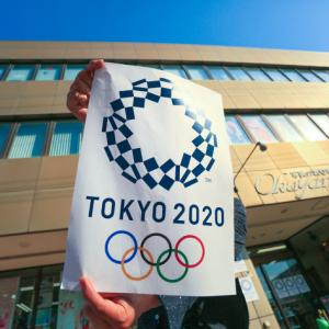 オリンピック聖火リレーを激写!!!