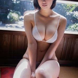 Hカップ東宮梨紗「ビキニ姿はキュンキュンすると思います」