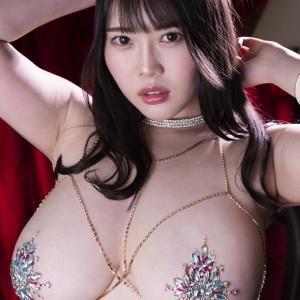 Jカップ伊川愛梨「胸の艶感がセクシー」