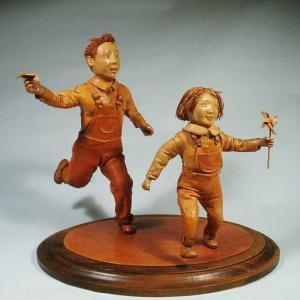 革人形ギャラリー「風を追いかけて」