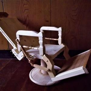 革人形用の椅子を作る その32
