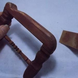 革人形用の椅子を作る その33