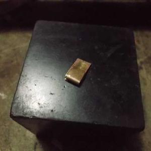 釘でミニチュアの短刀を作る その15