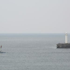 江ノ島 ハーバーと釜の口の風景