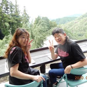 本瀧山のカフェで・癒されて~