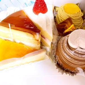 ケーキは美味しい
