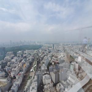 かなりもったいないことした、初渋谷スカイ