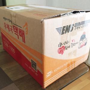 韓国から大量に届いたよ~⭐︎
