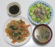 鬼ごっこ~あな番リピ / 最近の夕ご飯