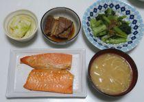 100円祭りと夫に感謝 / 最近の夕ご飯