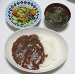 いつもの作業 / 最近の夕ご飯
