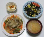 夏期講習修了(備忘録)/ 最近の夕ご飯