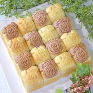 ミッキー&ミニーちぎりパン