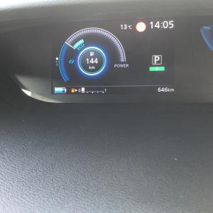 セレナe-POWER燃費レポート1回目