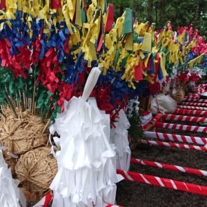 毎年恒例秋祭り