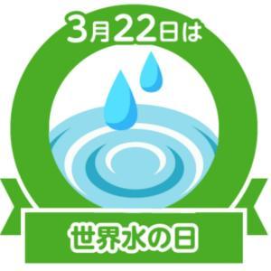 今日は世界水の日