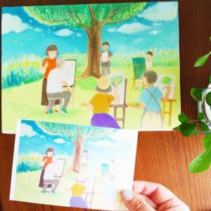 未来サキドリアートご感想『やっぱり絵を教えているのか〜と思いました』