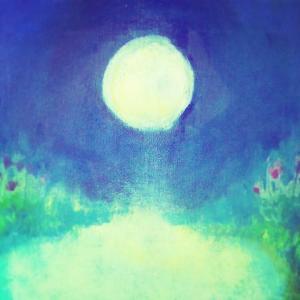 10月14日牡羊座の満月のキルタンコンサート『ゆほびか』原画展